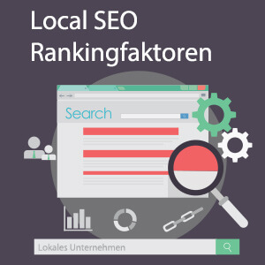 Grafik zu den Local SEO Rankingfaktoren